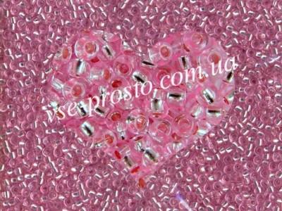 Бисер (5гр) 18273/338, розовый (блестящий)