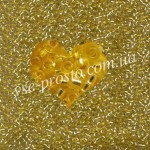 Бисер 08286/346, золотисто-желтый