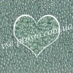 Бисер RR-370, зеленый глазурованный, 10/0 (10гр)