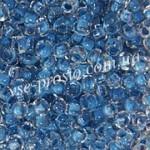 Бисер 38338 синий, 6/0 (акция)