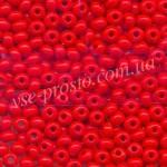 Бисер 93170/4036, красный, 4/0