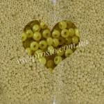 Бисер (5гр) 02151/409, зеленый (алебастровый)