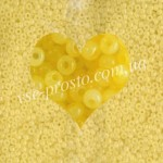Бисер 02281/414, желтый