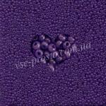 Бисер (10гр) 17828/424, фиолетовый (алебастровый)