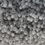 Бисер (5гр) 02241/433, серый (алебастровый)