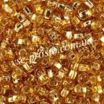 Бисер 17070/464, золотистый