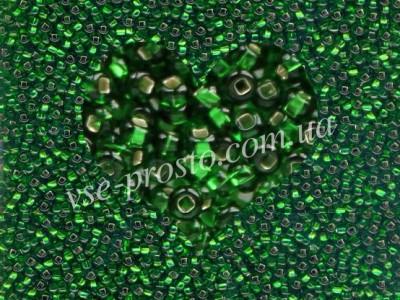 Бисер (5гр) 57120/478, зеленый (блестящий)