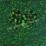 Бисер (10гр) 57120/478, зеленый (блестящий)