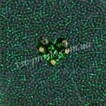 Бисер (5гр) 57060/483, зеленый (блестящий)