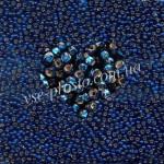 Бисер (10гр) 67100/489, синий (блестящий)
