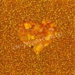 Бисер 87060/492, оранжевый