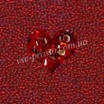 Бисер (5гр) 97070/496, красный (блестящий)