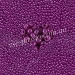 Бисер (10гр) 17125/501, фиолетовый (алебастровый яркий)