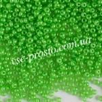 Бисер (10гр) 17156/503, салатовый (жемчужный)