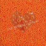 Бисер 17389/509, оранжевый