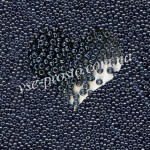 Бисер (5гр) 49102/538, серый (ирис жемчужный)