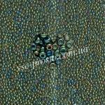 Бисер (5гр) 59155/543, зеленый (ирис радужный)