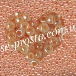 Бисер RR-543, персиковый цейлон, 10/0 (10гр)