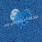 Бисер 17365/565, голубой