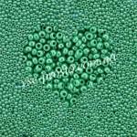 Бисер (5гр) 58250/568, бирюзово-зеленый (непрозрачный жемчужный)