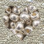 Бисер 18503/571, серебряный