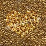 Бисер 18581/573, золотой