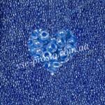Бисер (10гр) 38836/598, синий (прозрачный, прокрашен изнутри)