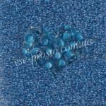 Бисер (10гр) 38338/620, синий (прокрашен изнутри)