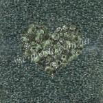 Бисер (5гр) 38359/623, зеленый (прозрачный, прокрашен изнутри)