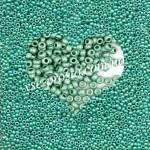 Бисер (5гр) 18558/642, бирюзово-зеленый (металлический матовый)