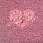 Бисер 38394/646, розовый (матовый)