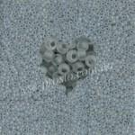 Бисер 38342/651, серый (матовый)