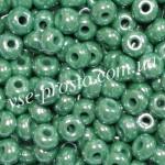 Бисер 53233/6615, зеленый, 6/0, люкс