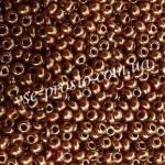 Бисер 93199/6619, бордово-коричневый, 6/0, люкс