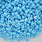 Бисер 68020/6010, голубой, 6/0
