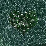 Бисер (5гр) 56120/709, зеленый (глазурованный)