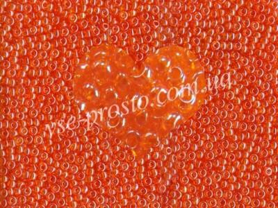 Бисер (5гр) 96000/716, оранжевый (глазурованный)