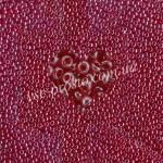 Бисер (10гр) 96090/720, красный (глазурованный)