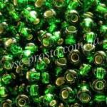 Бисер 57120/6029, зеленый, 6/0