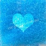 Бисер 01234/804, голубой