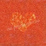 Бисер 01184/818, оранжевый