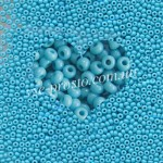 Бисер 63030/887, бирюзово-голубой