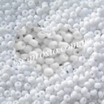 Бисер (5гр) 03050/833, белый (натуральный матовый)