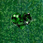 Рубка САТИН 55041/841, зеленая 10/0