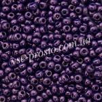 Бисер 33062/6608, пурпурный, 6/0, люкс