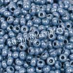 Бисер 33023/8810, серо-синий, 8/0, люкс