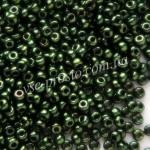 Бисер 49055/8822, зеленый, 8/0, люкс