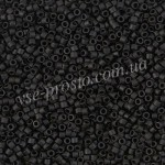 Delica (10гр) DB-0310 черный (матовый), 11/0