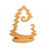Рождественская заготовка: подставка для шара Елочка (25х30см)