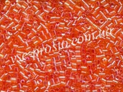 Бисер рубка (25гр.) оранжевая мелкая, (акция)